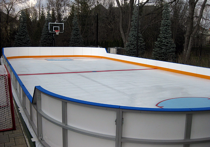 Amazing Rink Boards And Handrails