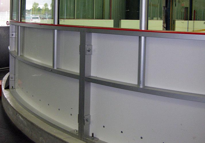 3u201d Aluminum Dasher Board Systems. Hockey Training ...