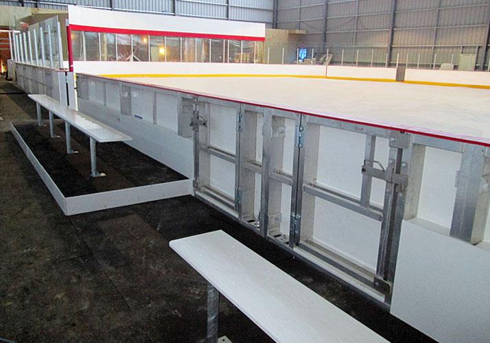 5u201d Aluminum Dasher Board Systems