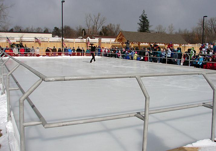 Custom Ice Rinks Boards