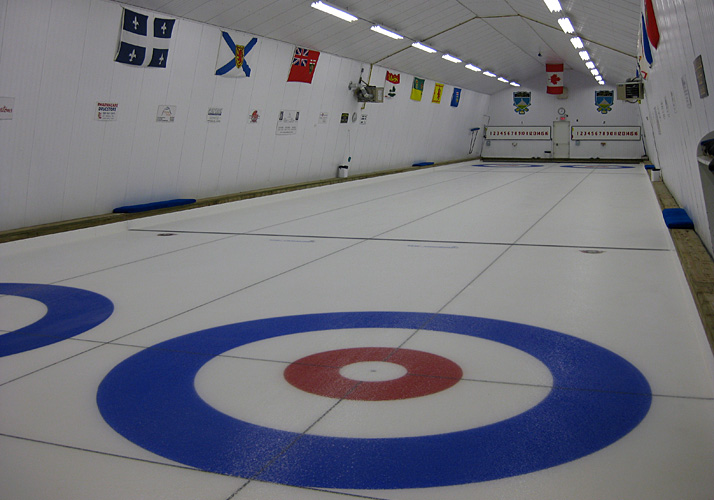 30' x 150' Curling rink retro-fit with existing chiller