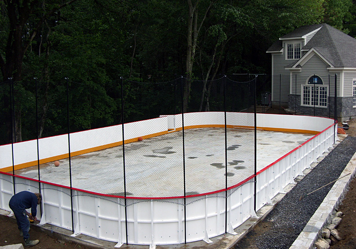 Custom Ice Rinks Residential Permanent