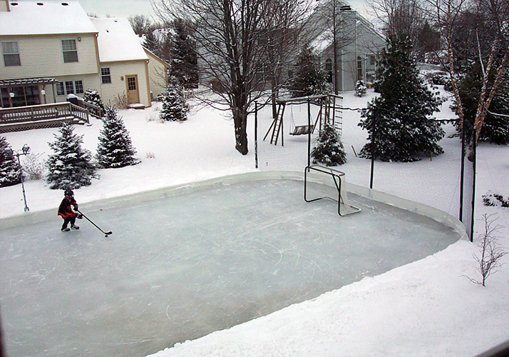 32' x 64' Portable Outdoor Residential Rink