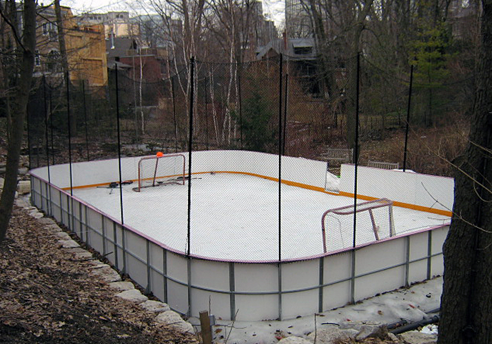 32' x 60' Portable residential rink