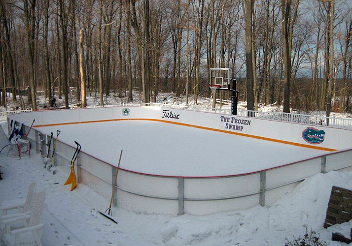 Clarence ... - Custom Ice Rinks Residential Portable