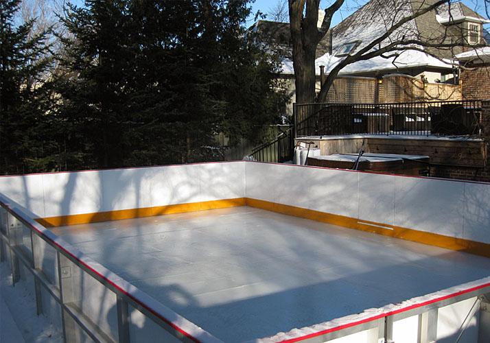 Custom Ice Rinks Residential Portable