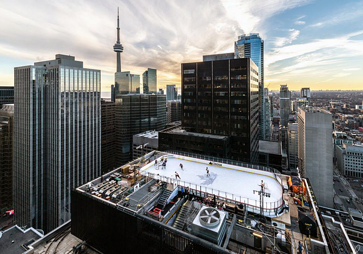 Roof Top Rink