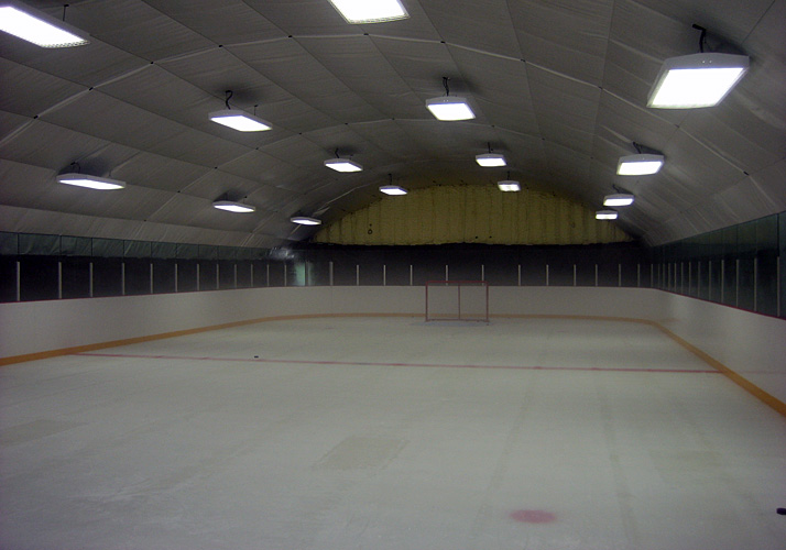 41' x 94' Indoor Year Round Private Residential Training Rink