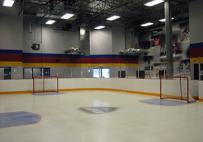 35' x 60' Training Rink Indoors Year Round with (1) Industrial Packaged Chiller Unit