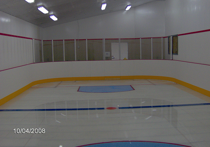 4' x 44' Indoor Year Round Training Rink with RinkMate Chiller